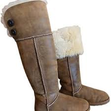 womens ugg bomber boots ugg australia womens the knee bailey button bomber boots