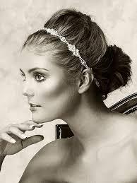 grecian headband wedding hair accessories bridal headband grecian wedding