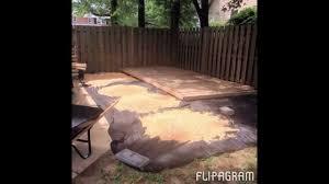diy backyard lounge 350 with deck u0026 firepit napturalnicole com