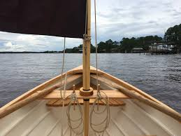 small boat restoration st jacques log 17 jul 17 sprit sail rig