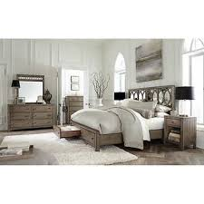 Vineyard Piece Cal King Sleigh Bedroom Set - Grande sleigh 5 piece cal king bedroom set