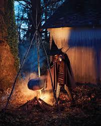 witch halloween decorations outdoor halloween in lambertville the minimalist nyc