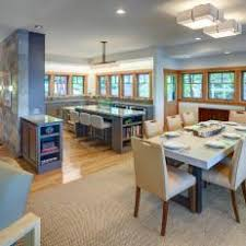 craftsman open floor plans neutral craftsman open plan kitchen photos hgtv