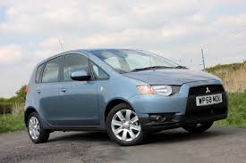 mitsubishi colt hatchback review 2004 2013 parkers