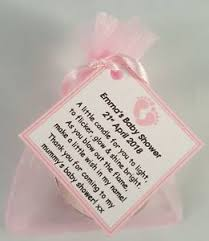 baby shower candles baby shower candle favours vanilla scented candles blue pink