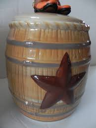 country western canister set kitchen coyboy cowgirl coffee sugar