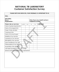 doc 523646 sample customer survey u2013 sample customer satisfaction