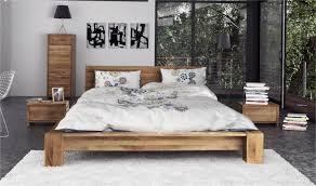 chambre a coucher chene massif moderne lit 180x200 en bois massif bas chambre à coucher haut de