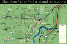 Oregon Winery Map by Willamette Valley Wineries