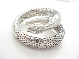 silver snake bracelet images Whiting and davis silver snake bracelet JPG