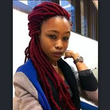 hair style with color yarn 84 best faux locs images on pinterest protective hairstyles