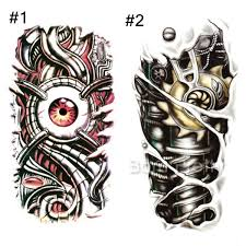 tattoo decal paper buy fr3 31 1 sheet red eye heart chain lock tattoo decals body art decal