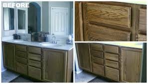 Kitchen Cabinet Restaining 28 How To Restain Bathroom Cabinets Refinish Bathroom Vanityjpg