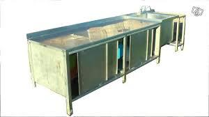 meuble inox cuisine pro meuble cuisine en inox meuble cuisine occasion meuble cuisine