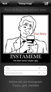 instameme the best meme creator apprecs