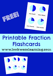 free cards free printable flashcards printable fraction flash cards look