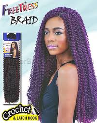 latch hook hair pictures freetress crochet latch hook bulk bouncy braid 5 99