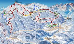 Piste Maps For Italian Ski by Andalo Ibt Travel
