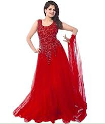 party wear gowns buy pashimo net fabric gowns for women partywear gowns for women