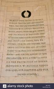 quote from thomas jefferson on marble wall in jefferson memorial