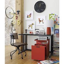 Crate And Barrel Desk by 123 Best Home Offices Images On Pinterest Crates Office Designs
