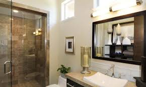 pictures of bathrooms with showers classic mirror frame oval brown
