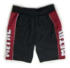 Metal Jack Bench Shirt Metal Black U0027n Red Shorts Metal Sport Apparel Shorts Metal