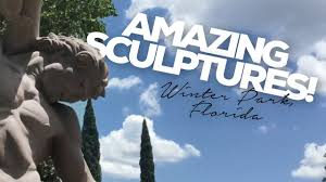 touring the albin polasek museum and sculpture gardens in winter