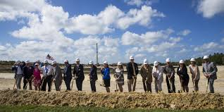 lee health celebrates readiness to build medical village in estero