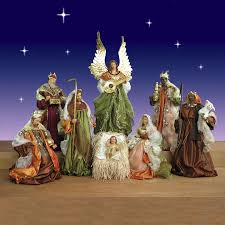 Outdoor Lit Nativity Scene by White Resin Outdoor Nativity Set Outdoor Designs