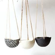 hanging planter basket modern hanging plant hanging planter iron and rope modern succulent