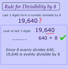 divisibility rules how to test if a number is divisible by 2 3 4