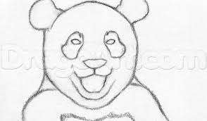 learn how to draw a happy panda forest animals animals free