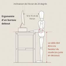 hauteur bureau ergonomie hack ikea bureau assis debout d angle ergonomie bureau