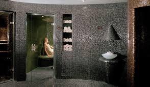 bathroom mosaic tile floor wall glass colors le gemme