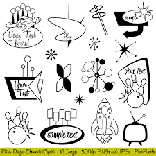 retro cocktail party vintage clipart cocktail party pencil and in color vintage