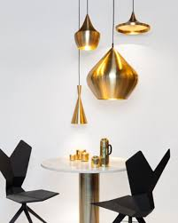 tom dixon beat light beat tall pendant light in brass by tom dixon
