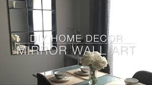 Window Mirror Decor by Home Diy Decor Dollar Tree Mirror Under 20 Youtube