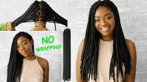 fortress soft dread hair easiest faux locs no wrapping no cornrows very detailed