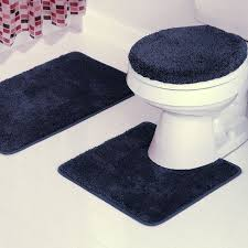 Navy Blue Bathroom by Rug Navy Blue Bathroom Rug Set Nbacanotte U0027s Rugs Ideas