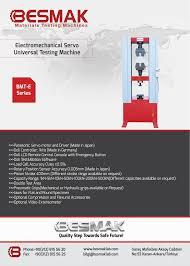 servo electromechanical universal testing machines