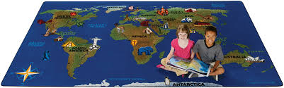 plush design ideas world map rug creative continental wonders