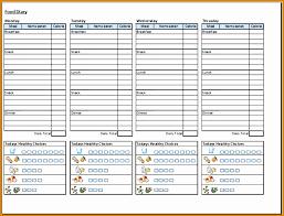 printable daily food intake journal 6 sle food diary template besttemplates besttemplates