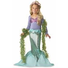 lil u0027 mermaid child halloween costume walmart com