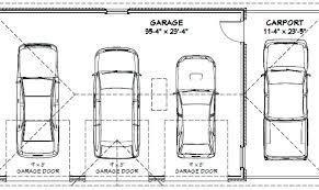 4 car garage size 3 car garage size one car garage door dimensions garage door width 2