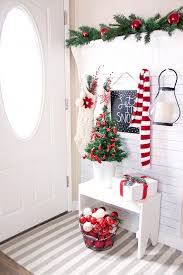 Home Decorating Ideas For Christmas Best 25 Christmas Entryway Ideas On Pinterest French Country