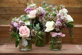wedding flowers jam jars using jam jars in wedding flowers bristol wedding flowers the