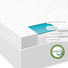 Sofa Bed Mattress Topper Queen by Bed U0026 Bedding Make Your Bedroom More Comfy With Gel Mattress