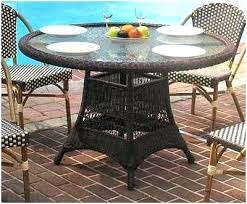 resin patio table with umbrella hole round resin patio table coffee table plastic outdoor side table