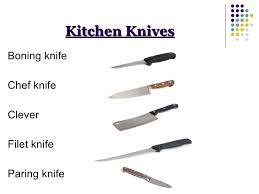 different kinds of kitchen knives culinary kitchen operation